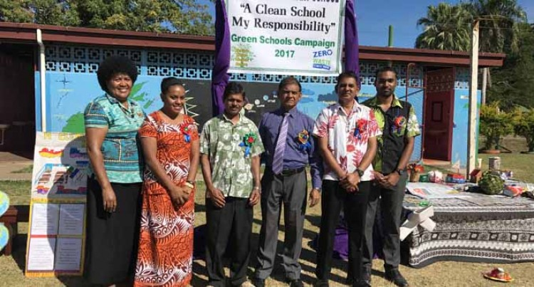 St Mary's Sets Pace In School Cleanliness