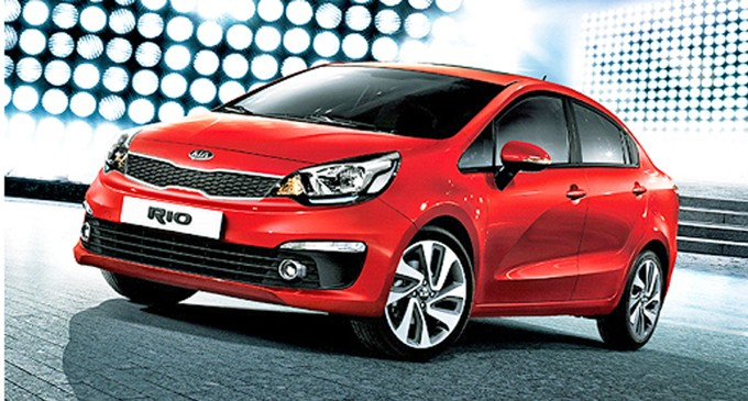 The Design Lead Kia Rio