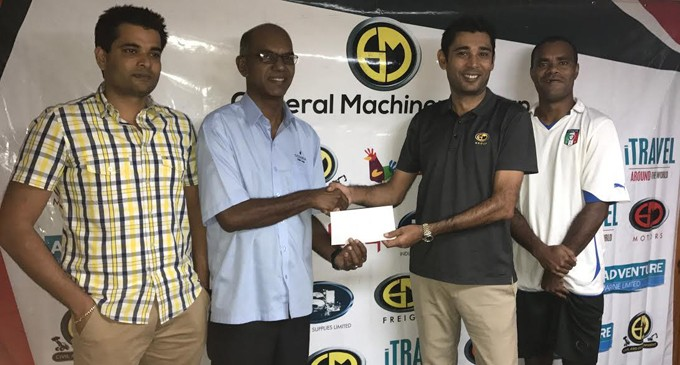 General Machinery Backs Blues