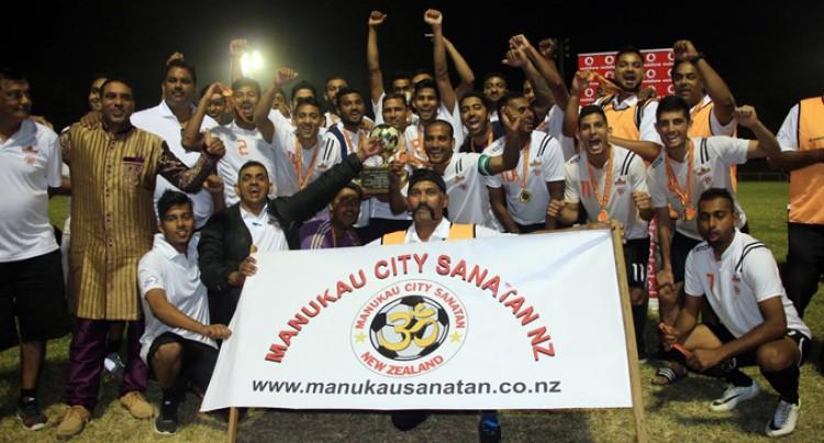 Krishneel Stars In Manukau Win