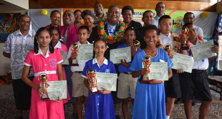 North Primary Students Receive Excellence Award