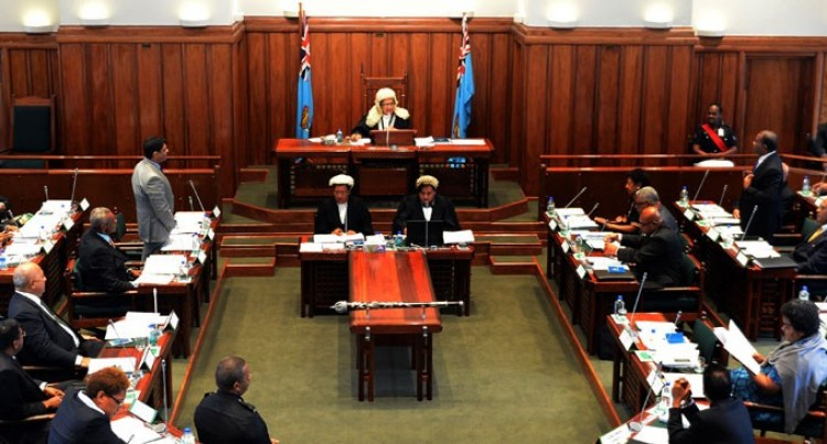 PARLIAMENT OF THE REPUBLIC OF FIJI :ORDER PAPER FOR  Monday, 10 July 2017 At 9.30 a.m.