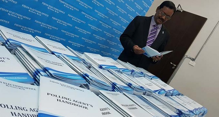 1000 Handbooks Delivered To Registered Political Parties