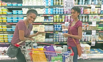 Students Shops For Groceries