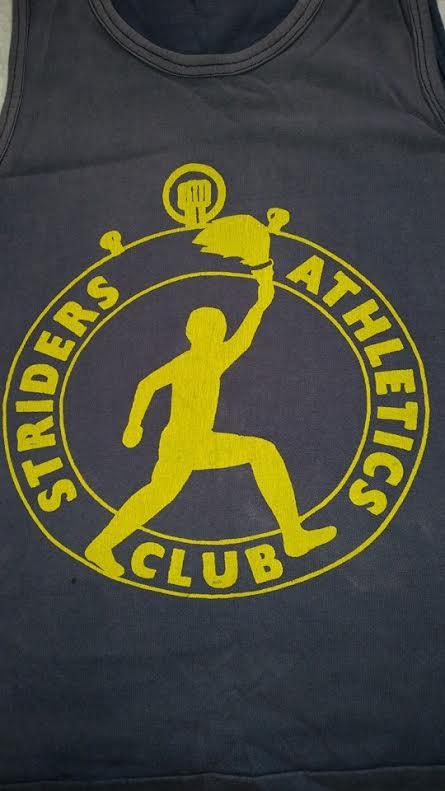 Striders Athletics Club logo