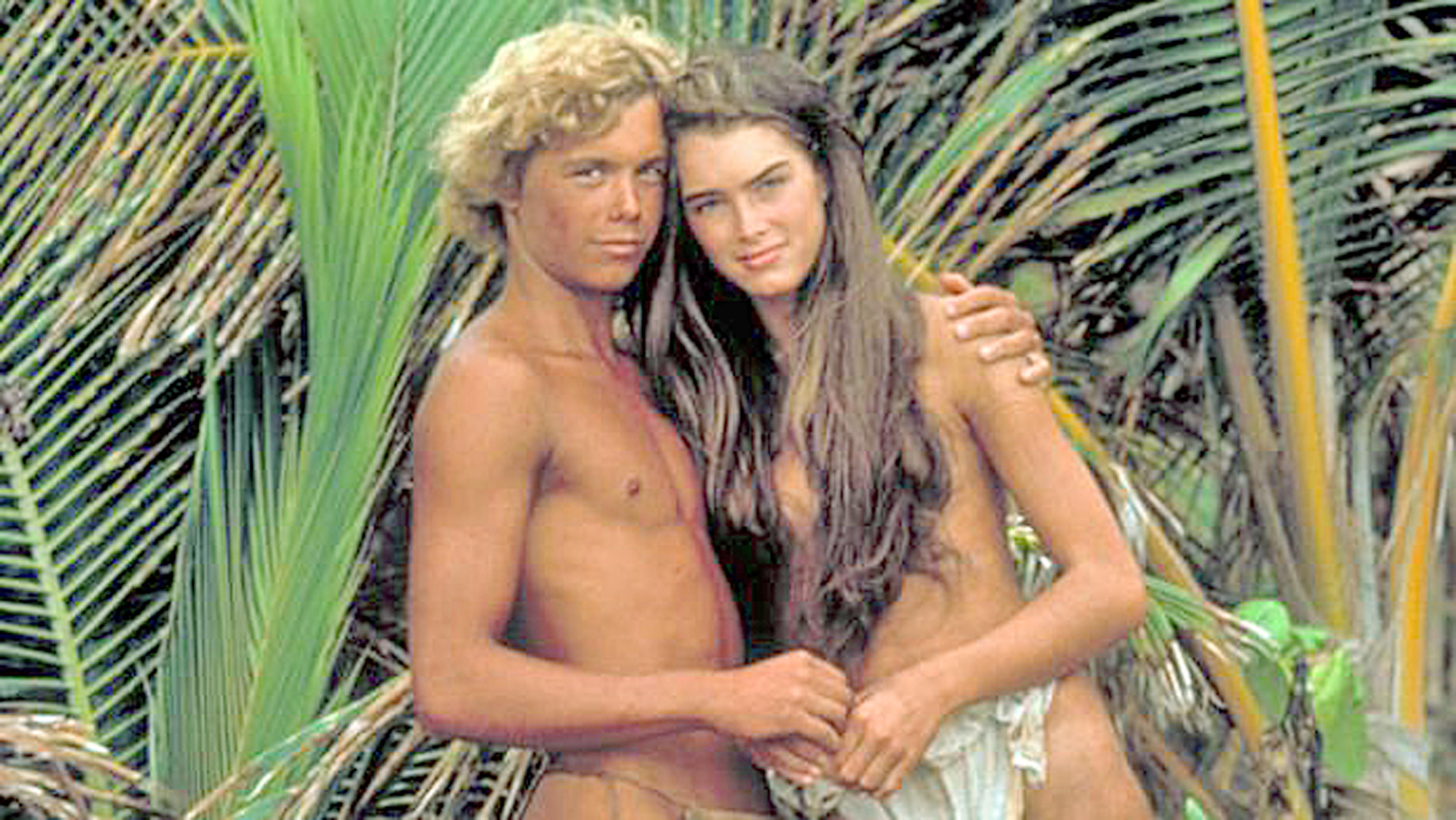 Christopher Atkins and Brooke Shields in the 1980 film Blue Lagoon