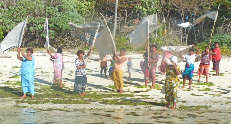 Women Show Joy in Water Tanks Arrival in Traditional Welcome Performance