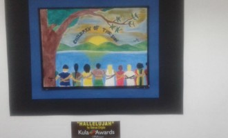 Winning Students Art Work On Display