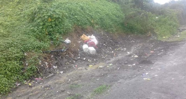 Residents thank council for removing rubbish