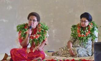 Vuniwaqa Leads Government Delegation in Lau Talanoas