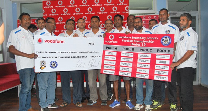 Fiji Football Gives $11k For Schools Championship