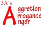 Aggression, Arrogance & Anger