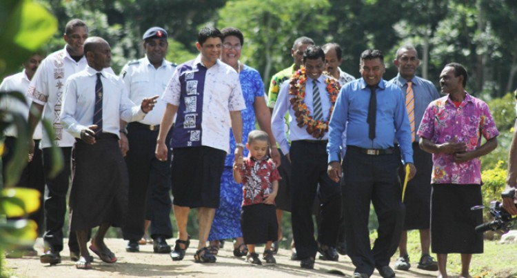 Kindy Praises A-G for Attending Tailevu Event