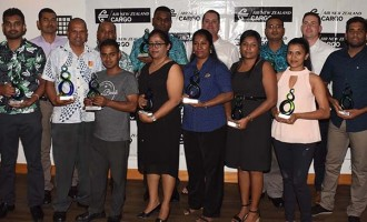 Air NZ recognises Freight Forwarders