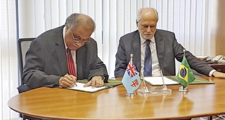 Fiji, Brazil Sign Visa Waiver Agreement