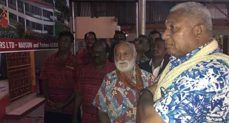 PM Bainimarama Praises Sanatan's Education Contribution To The Country