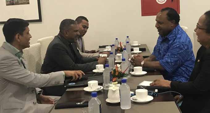 Koya: Talks With PNG Minister Pato Fruitful