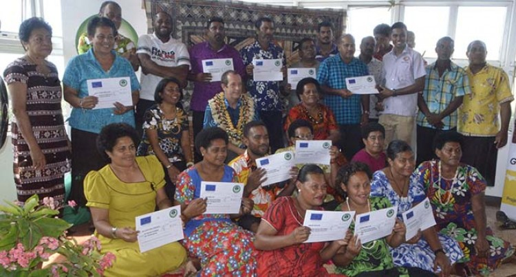 12 Community Based Organisations Received Funding From EU