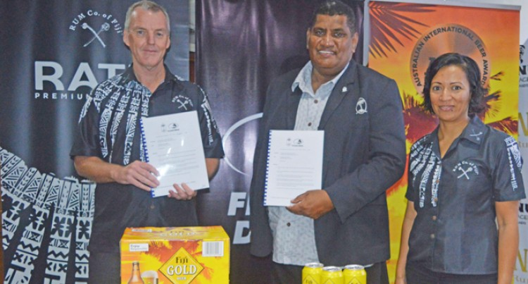 Paradise Beverages Back Fijian Drua
