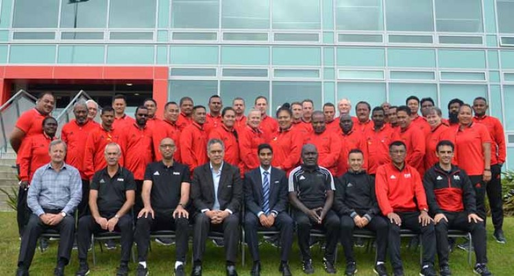 Senior Referees Attend NZ Development Training