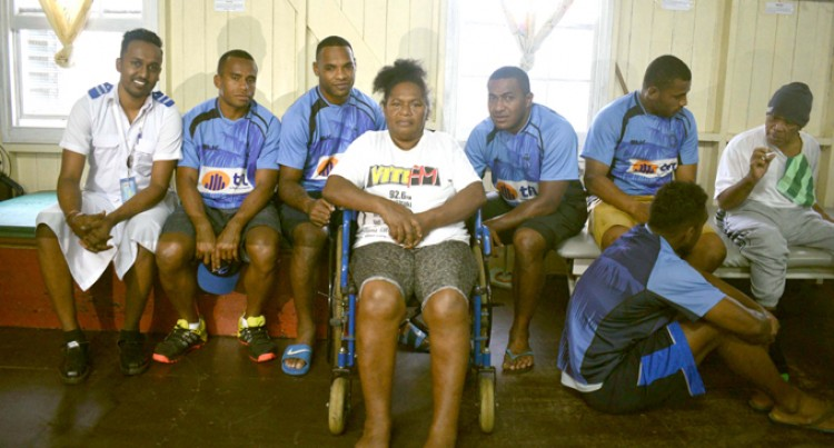 Fijian Drua Visit Inspires Patients
