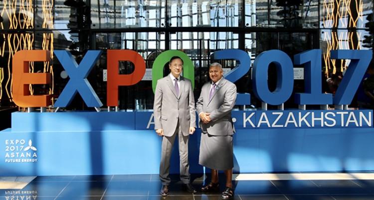 Kazakhstan Praises PM, Fijian Service