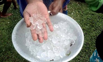 Hailstorm not linked to climate change: FijiMet