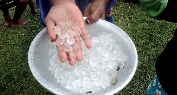 Hailstorm not linked to climate change: FijiMet