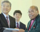 Church signs agreement with Korean youths