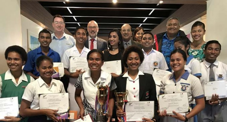 Adi Cakobau School, Sangam SKM College Students Top Competition