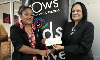 Aliz Pacific Takes Lead To Raise $6907 In WOWs Morning Tea