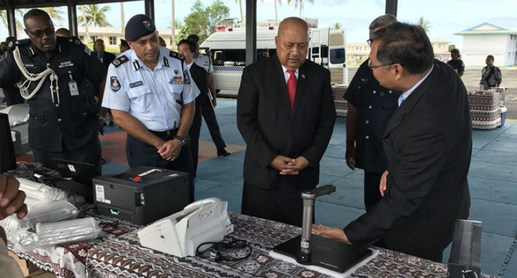 China Hands Over $0.67M Gear To Fiji Police