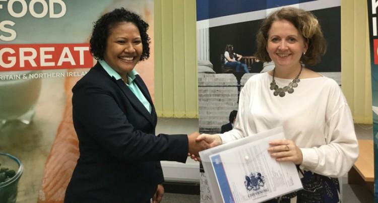 Chevening Awardee Tikoduadua Off To UK