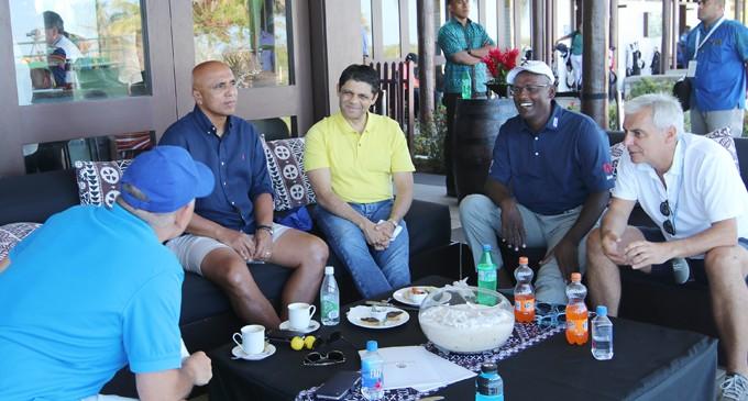 Vincent on course at Fiji International