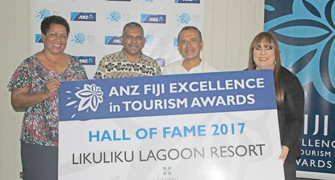 Hall of Fame For Rosie's Likuliku Lagoon Resort