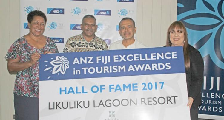 Hall of Fame For Rosie's Likuliku Lagoon Resort