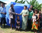Bhatnagar Assists Navusolo's Family With A Water Tank