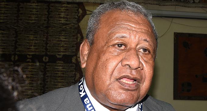 Lau Provincial Council chairperson Ilisoni Taoba. Photo: Ronald Kumar