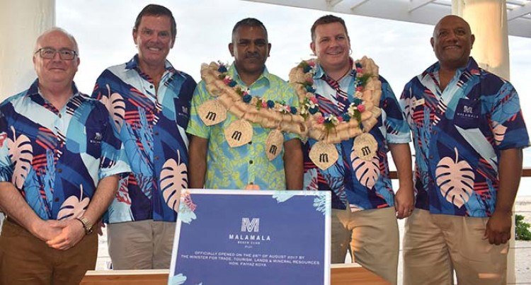 Malamala Beach Club Fiji Opens