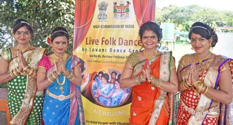 Lavani Sisters Dance For Disability Awareness