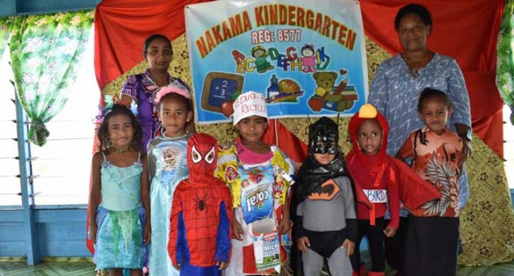 Nakama tiny tots encouraged to keep eye on education
