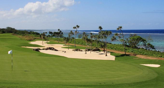 Natadola Bay Championship Golf Course.