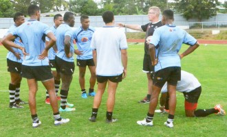 Fijian U20 take on challenge