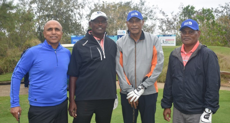 Fiji's Vijay Singh Focused And Ready To Play