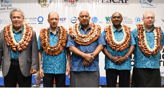 PM: Small island nations fiercest defenders of our oceans