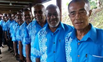 New Look For Suvavou Men's Choir