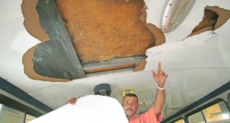 Driver Calls For Action After Bus Vandalism