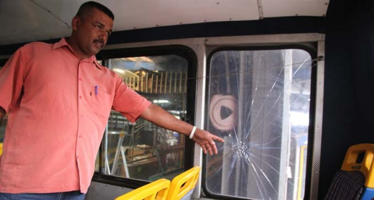 Driver Calls For Action After Bus Vandalism