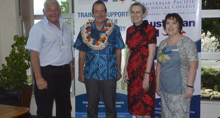 EU and Australian Government handover project equipment to FSC