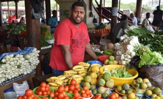 Customers Buy Fresh Farm Products